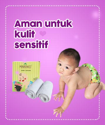 Minikinizz aman untuk kulit sensitif