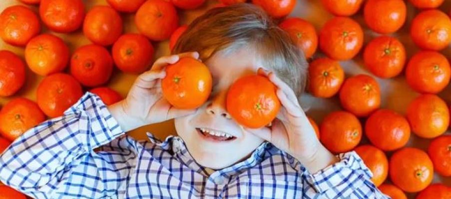 Jeruk dan Segala Manfaatnya untuk Anak