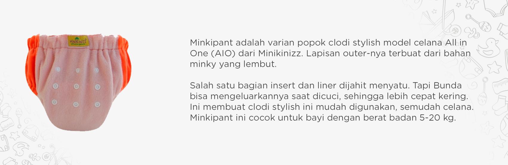 Minkipant - Sweety Peach