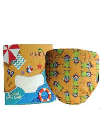 Produk: Swim Diaper Yelow Clown [MSD-111]