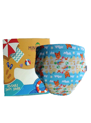Produk: Swim Diaper Cat Beach [MSD-114]