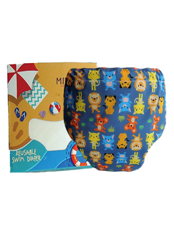 Produk: Swim Diaper Wild Animal [MSD-115]