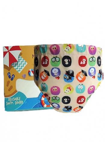 Produk: Swim Diaper Fluffy Balls [MSD-120]