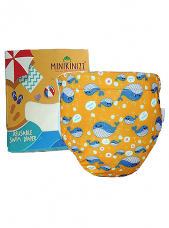 Produk: Swim Diaper Cute Whale [MSD-121]