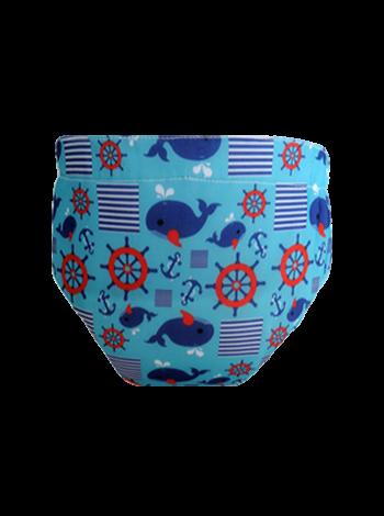 Produk: Swim Diaper Marine Blue [MSD-171]