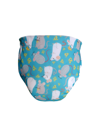 Produk: Swim Diaper Blue Mice [MSD-166]