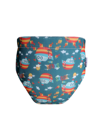 Produk: Swim Diaper Sailor Boat [MSD-164]
